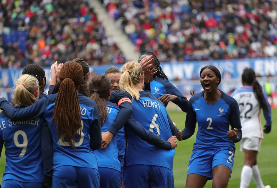 Les Bleues 3es — SheBelieves Cup